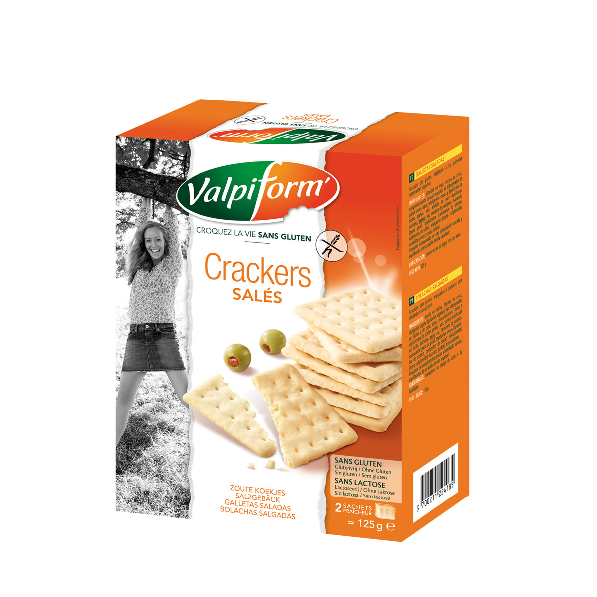 Crackers salés ValpiForm